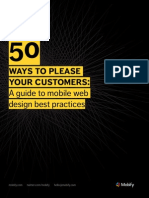 50 Mobile Web Design Best Practices eBook Mobify