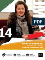 The Bachelor of Medicine JMP 2014