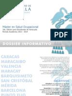2do Master en Salud Ocupacional UAH Venezuela