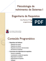 MDS1 - Engenharia de Requisitos