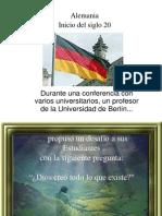 Alemania Inicios Del Siglo Xx