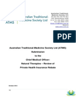 ATMS Submission to Chief Medical Officer Final