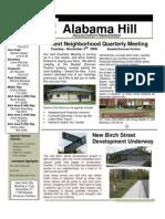 19 Oct 09 Newsletter