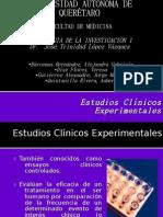 Ensayos clínicos experimentales
