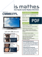 New CM 37 Spec Sheet NC