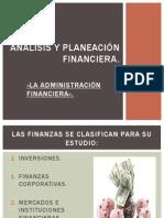 Análisis y planeación financiera