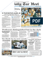 The Daily Tar Heel for March 26, 2014