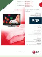 Spec Sheet LH250 Series