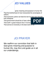 JCI+Values+Prayer+and+Mission