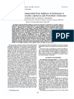 Inhibition by Antimicrobial Food Additives