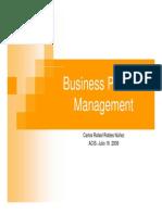 BusinessProcess Management