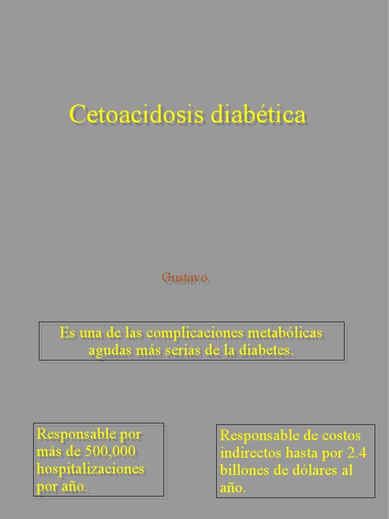 Inicio de dieta en cetoacidosis diabetica