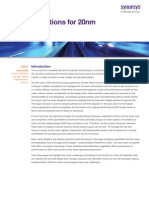 20nm and Beyond White Paper