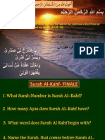 Surah AlKahf-Finale without Answers