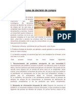 RESUMEN 2.1.3 El proceso de decisión de compra