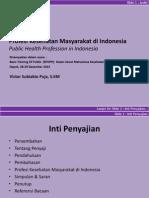Profesi Kesehatan Masyarakat