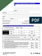 TfNSW Form 0017 VIPP Application Form