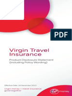 Travel Insurance PDS