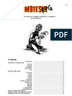 Mini RPG Conversion for Twilight Creations Inc.'s Zombies!!! by Matt