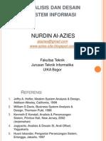 Analisis Dan Desain Sistem Informasi