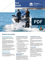 Boating Licence Practical Logbook