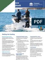 Boating Licence Practical Logbook