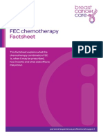 Fec-chemotherapy Fact Sheet