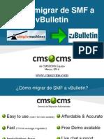 Cómo migrar de SMF a vBulletin con CMS2CMS