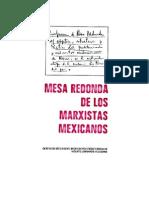 470110 Mesa Redonda Marxistas Mexicanos
