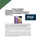 CONCEPCIÓN DE CEREBRO TRIÁDICO