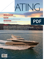 Asia Pacific Boating Magazine devoted 6 full pages featuring the Emeraude Classic Cruises' 10th year anniversary story, March 2014