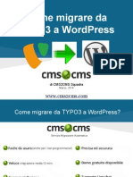 [Cms2cms [Ppt Italian Typo3 to Wordpress