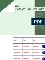 Catálogo de peças NXR150 BROS KS-ES-ESD (2006-2007) - 00X1B-KRE-002