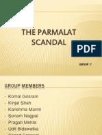The Paramalat Scndal