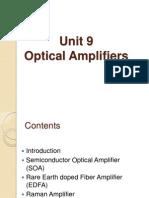 Unit 9 - Optical Amplifier