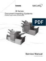 Pitney Bowes DI380/DI425 Series Document Inserting Systems