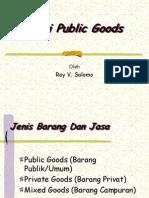 Teori Public Goods