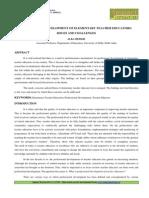 7. Humanities-Professional Development of Elementary Teacher-Alka Behari