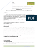 8. Humanities-Case Study of Error Analysis of the Usage of Tense-Joseph Thomas