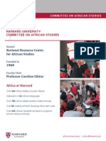 harvard south africa fellowship program