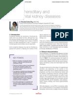 Feline hereditary and congenital kidney diseases
