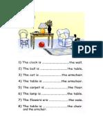 Prepositions Kids