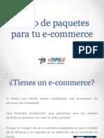 Envío de paquetes para tu e-commerce