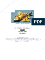 A Precolumbian Gold Airplane