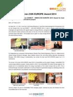 Wc1403 Enercon Award PR - FINAL