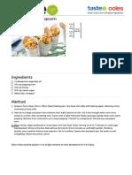 Honey-Caramel Popcorn Recipe - Taste.com