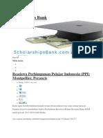 Scholarships Bank