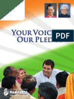 Congress Manifesto 2014 Lok Sabha polls