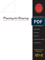 Planning for Start-Up (University of Austin Texas)