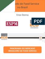 7 - O Mercado de Food Service No Brasil - Enzo Donna
